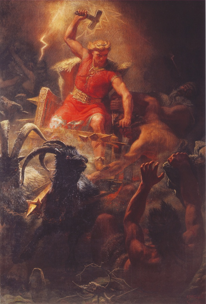 Painting of Thor