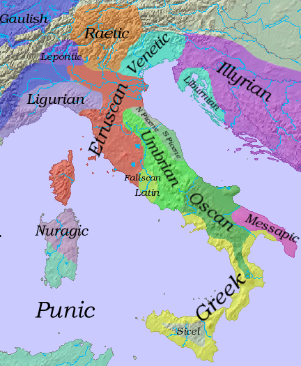 The ancient Italic peoples.