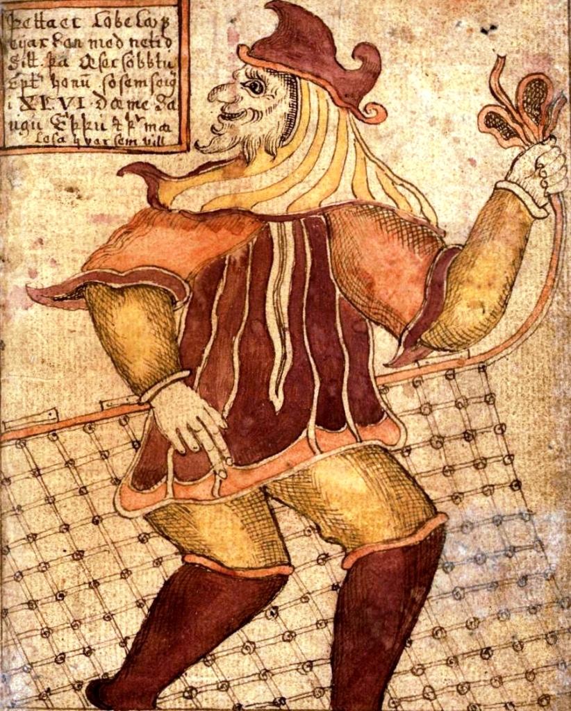 18th Century depiction of the god Loki.